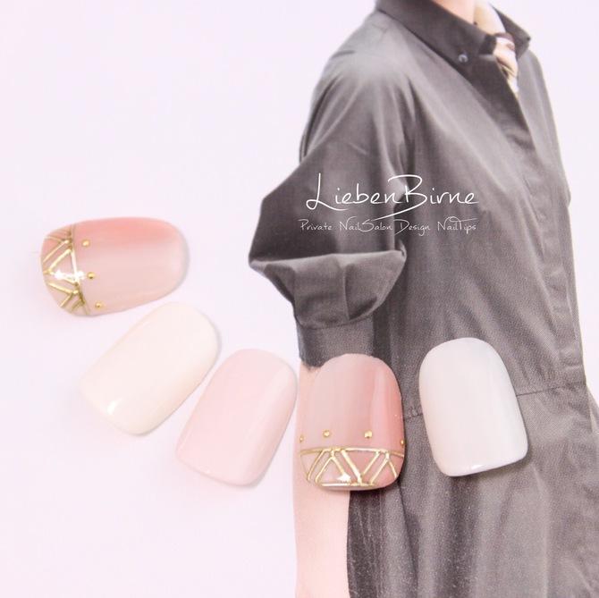 ピンクのMoroccoネイル